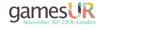 #gamesUR Conference 2018 - 30th November, London