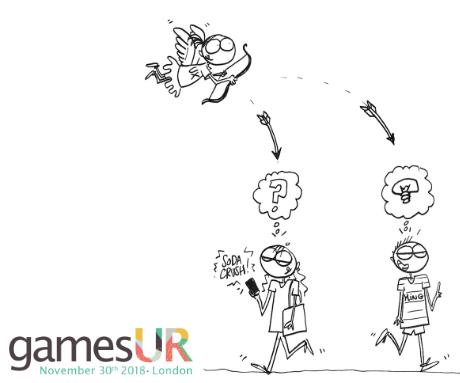 Sessions | #gamesUR Conference 2018 - 30th November, London
